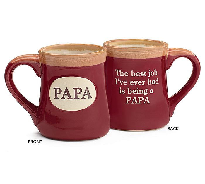 Papa with Message Mug - Premier Gifts n Balloons