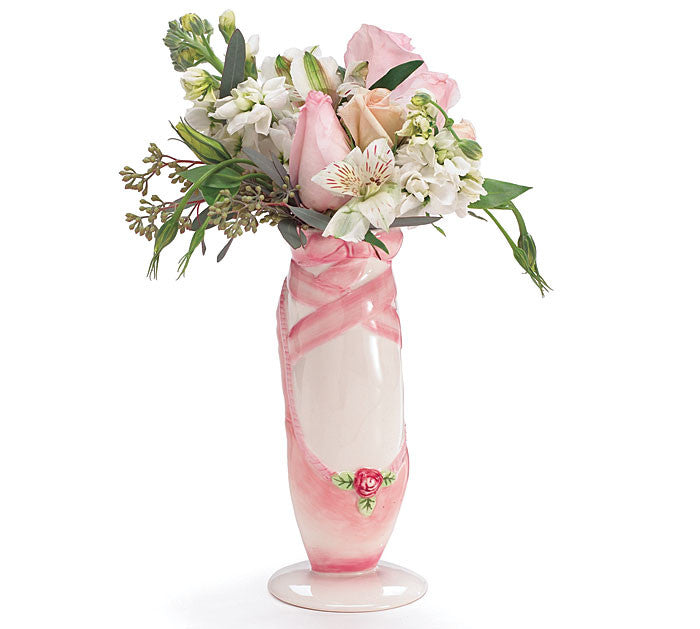 Ballerina Shoe Vase, [Premier Gifts and Balloons], Ceramic Gifts, Premier Gifts 'n Balloons
