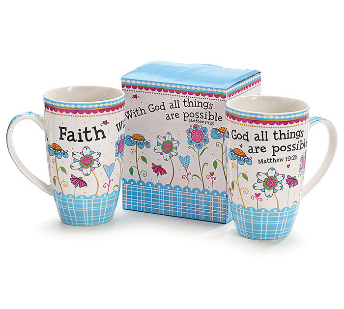 Faith Mug, [Premier Gifts and Balloons], Drinkware, Premier Gifts 'n Balloons