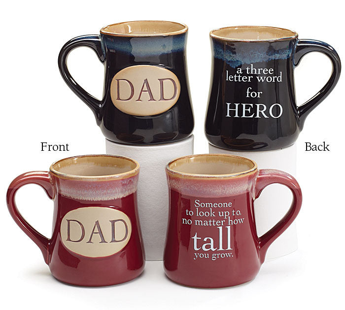 Dad With Message Mug, [Premier Gifts and Balloons], Drinkware, Premier Gifts 'n Balloons