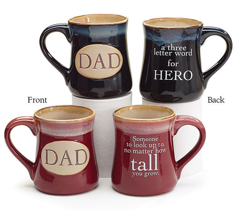 Dad With Message Mug - Premier Gifts n Balloons