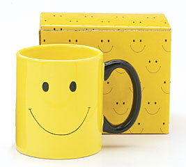 Smiley Face Ceramic Mug, [Premier Gifts and Balloons], Drinkware, Premier Gifts 'n Balloons
