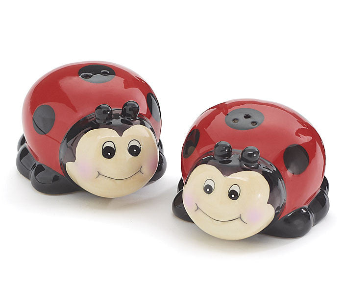 Ladybug S & P Shakers, [Premier Gifts and Balloons], S & P Shaker, Premier Gifts 'n Balloons