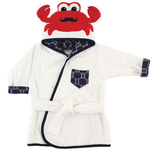 Baby Crab Animal Face Hooded Bath Robe, [Premier Gifts and Balloons], Premier Baby, Premier Gifts 'n Balloons