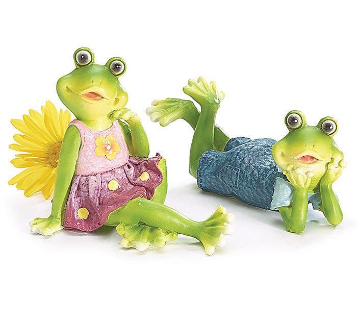 Dressed Frog Figurines, [Premier Gifts and Balloons], Ceramic Gifts, Premier Gifts 'n Balloons