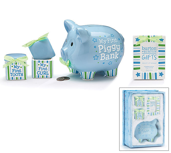 Baby Boy Keepsake Gift Set, [Premier Gifts and Balloons], Baby Gifts, Premier Gifts 'n Balloons