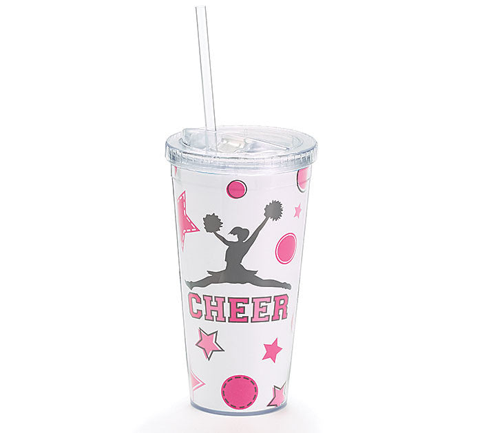 Cheer Travel Cup, [Premier Gifts and Balloons], Drinkware, Premier Gifts 'n Balloons