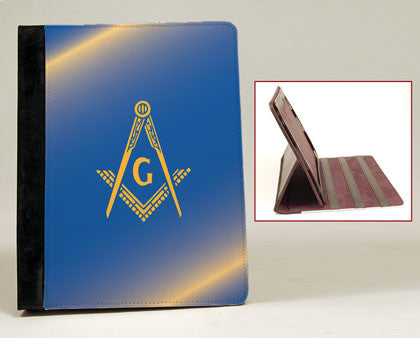 Masonic iPad Notebook Case with Stand, [Premier Gifts and Balloons], Greek, Premier Gifts 'n Balloons