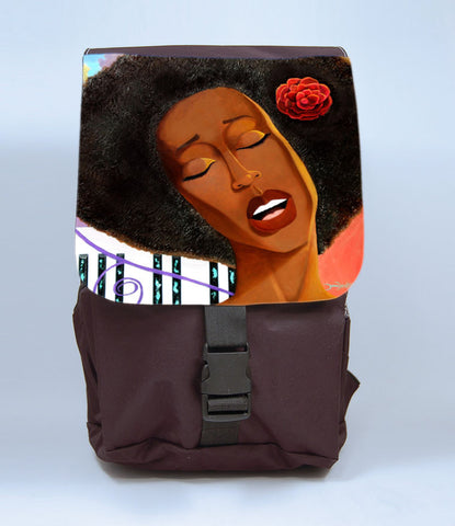 Chocolate Sunrise Backpack, [Premier Gifts and Balloons], Afrocentric, Premier Gifts 'n Balloons