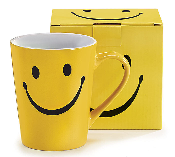 Smiley Face Mug, [Premier Gifts and Balloons], Drinkware, Premier Gifts 'n Balloons