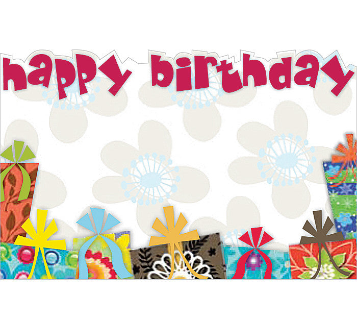 HBD Gifts Enclosure Card, [Premier Gifts and Balloons], Wrapping, Premier Gifts 'n Balloons
