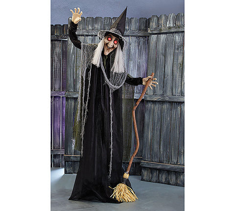 Animated Witch, [Premier Gifts and Balloons], Home Decor, Premier Gifts 'n Balloons