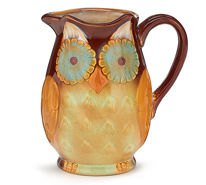 Owl Pitcher, [Premier Gifts and Balloons], Drinkware, Premier Gifts 'n Balloons