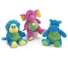 "9"" Zany Zoo Assortment, [Premier Gifts and Balloons], Plush Toys, Premier Gifts 'n Balloons"