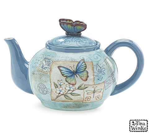 Butterfly Teapot - Premier Gifts n Balloons