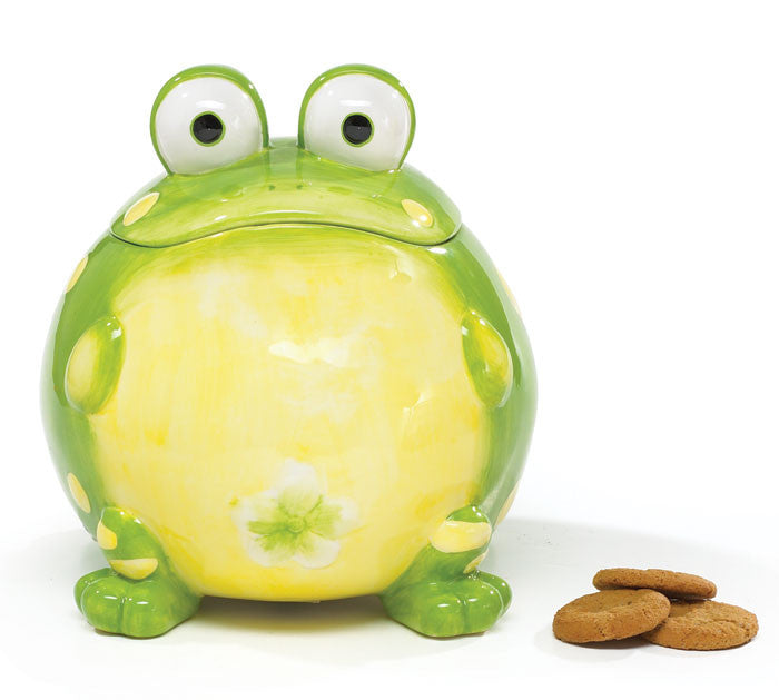 Toby Toad Cookie Jar, [Premier Gifts and Balloons], Cookie Jar, Premier Gifts 'n Balloons