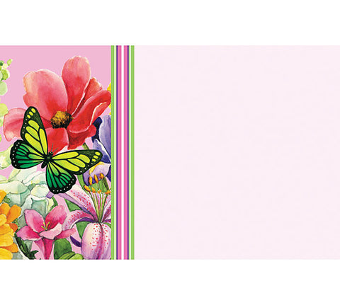 Butterfly Breeze Enclosure Card, [Premier Gifts and Balloons], Paper Goods, Premier Gifts 'n Balloons