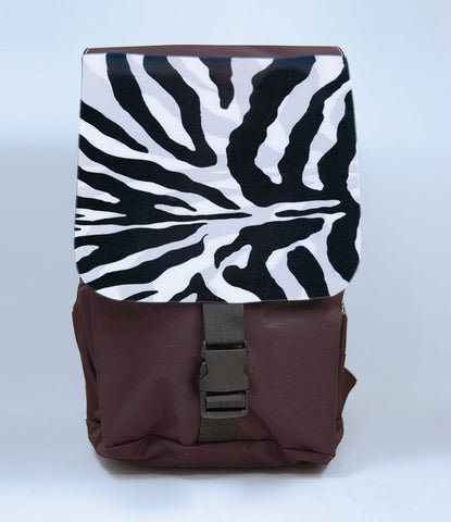 Zebra Print Backpack, [Premier Gifts and Balloons], Afrocentric, Premier Gifts 'n Balloons