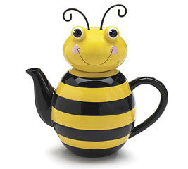 Honey Bee Teapot, [Premier Gifts and Balloons], Teapots, Premier Gifts 'n Balloons