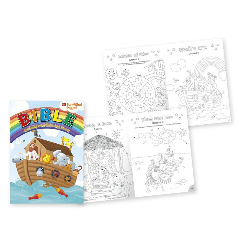 Bible Coloring Book, [Premier Gifts and Balloons], Books, Premier Gifts 'n Balloons