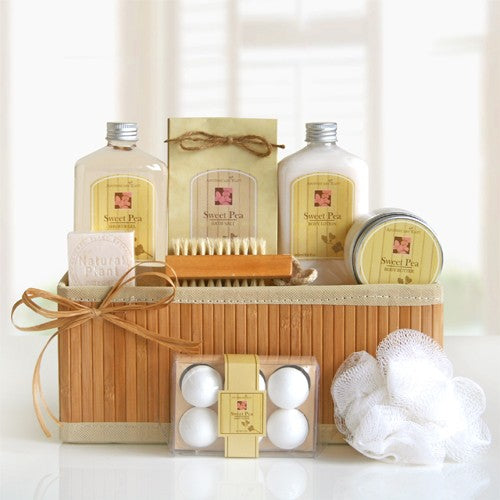 Sweet Pea Spa Gift Basket
