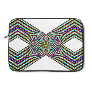 """Crystal Cross"" - Beautiful Original HariTahov Design Laptop Sleeve"