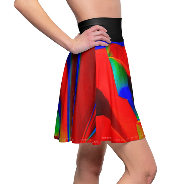 Crystal Heaven Split Skater Skirt
