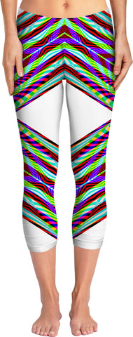 Crystal Rainbow - Luxe Design Yoga Pants