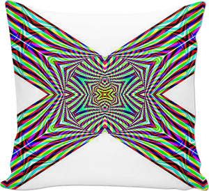 Crystal Cross Rainbow - Luxe Design Pillow