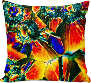 Crystal Cosmic Flower - Luxe Design Pillow