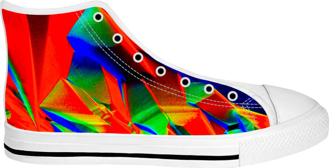 Crystal Heaven Split - Luxe Design Sneakers