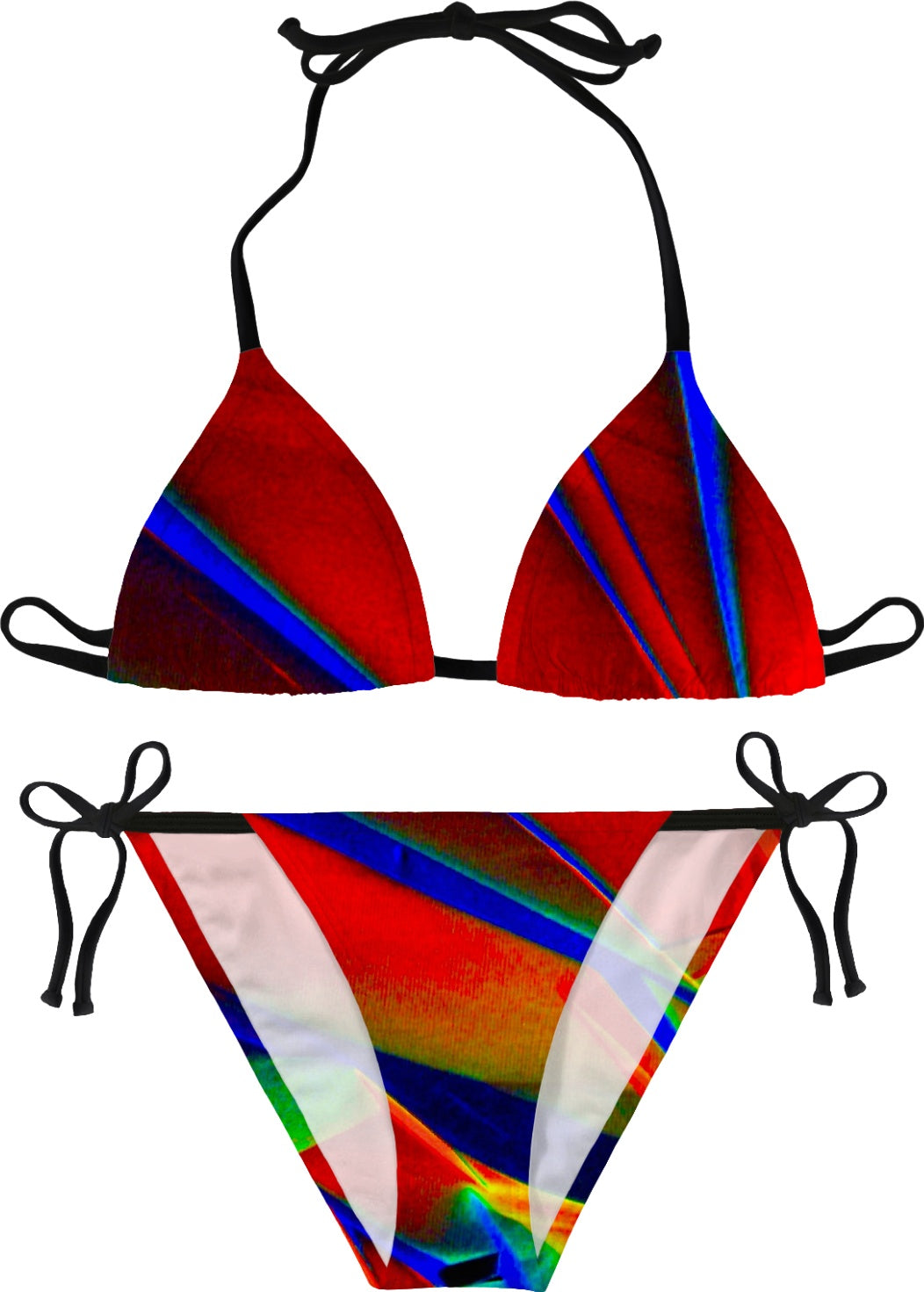 Crystal Heaven Split - Luxe Design Bikini