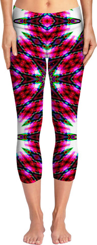 Fuchsia Fusion Flow - Luxe Design Yoga Pants