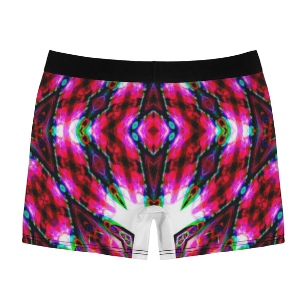Fuchsia Fusion Flow Men's Boxer Briefs