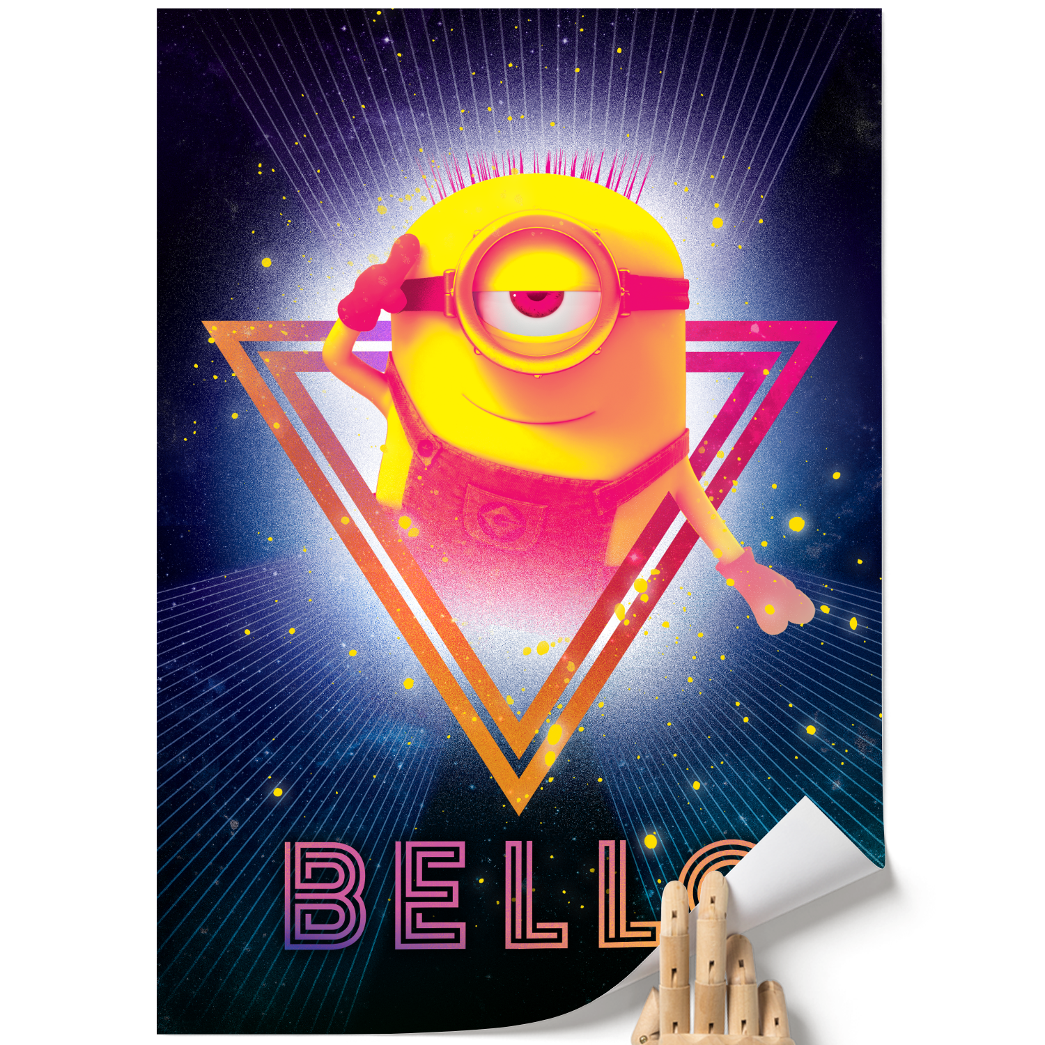 A3 Poster - Bello - Despicable Me/Minions