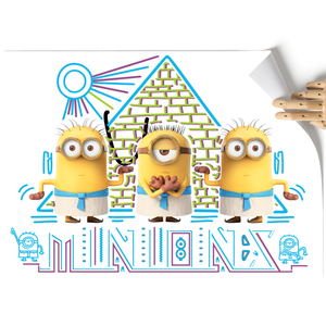A3 Poster - Egyptians - Despicable Me/Minions