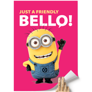 A3 Poster - Friendly Bello - Despicable Me/Minions