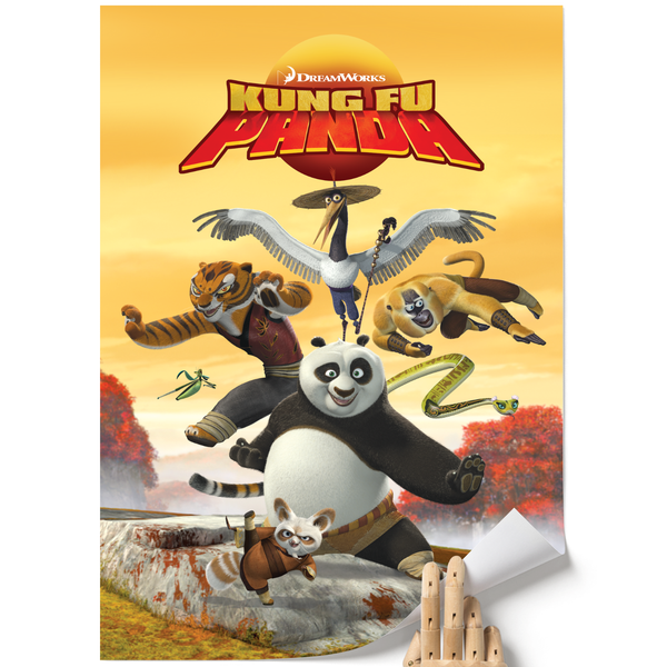 A3 Poster - Promo Cover - Kung Fu Panda