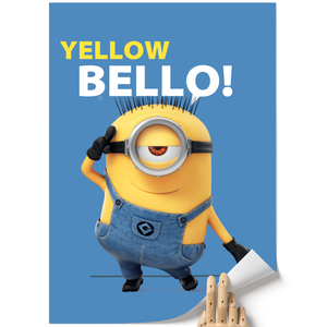 A3 Poster - Yellow Bello! - Despicable Me/Minions