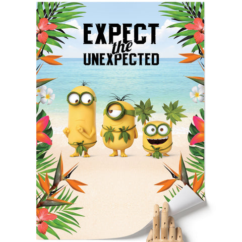 A3 Poster - Expect The Unexpected - Despicable Me/Minions