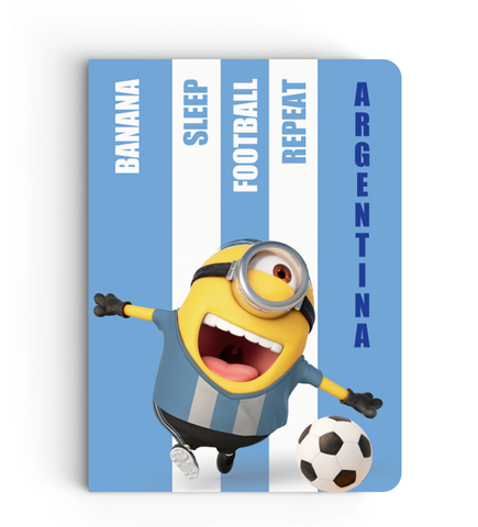 Limited Edition Notebook - Argentina - Despicable Me/Minion