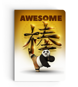 Notebook - Awesome Panda - Kung Fu Panda