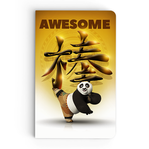 Thin Notebook - Awesome Panda - Kung Fu Panda