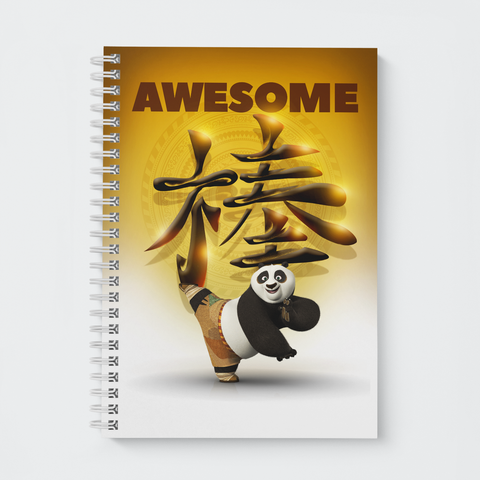 Wiro Notebook - Awesome Panda - Kung Fu Panda