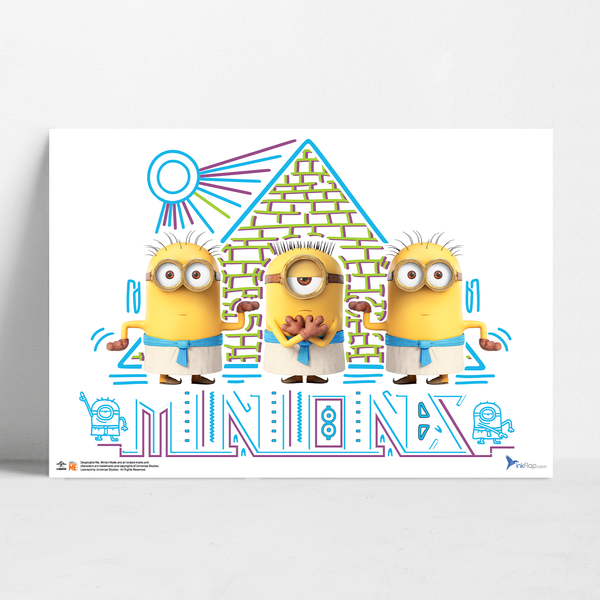 B2 Poster - Egyptians - Despicable Me/Minions