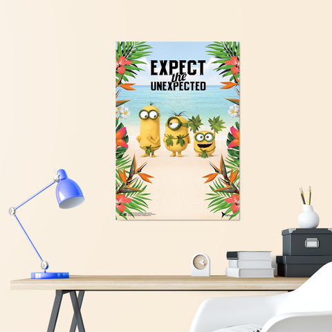 B2 Poster - Expect The Unexpected - Despicable Me/Minions