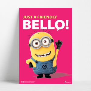 B2 Poster - Friendly Bello - Despicable Me/Minions