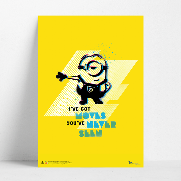 B2 Poster - I've Got Moves - Despicable Me/Minions