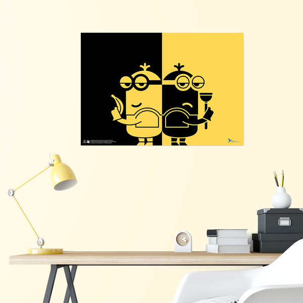 B2 Poster - Minions Side by Side - Despicable Me/Minions