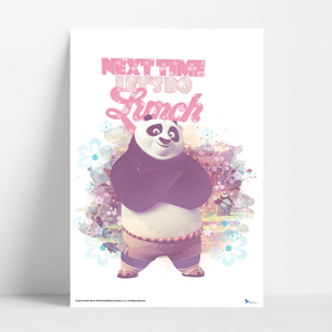B2 Poster - Next Time Let's Do Lunch - Kung Fu Panda